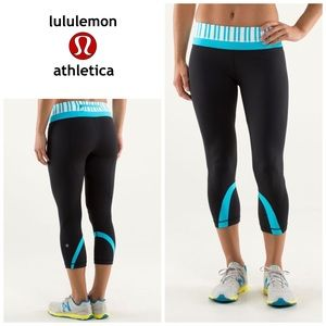Lululemon RUN : inspire crop leggings - luxtreme